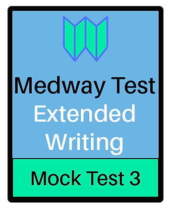 Medway Test Extended Writing - Test 3