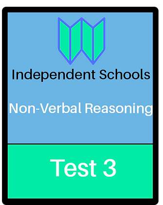 Independent Schools - Non-Verbal Reasoning Test 3