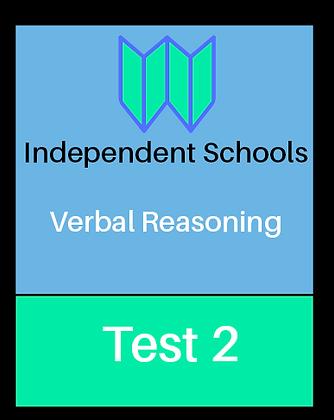 Independent Schools - Verbal Reasoning Test 2