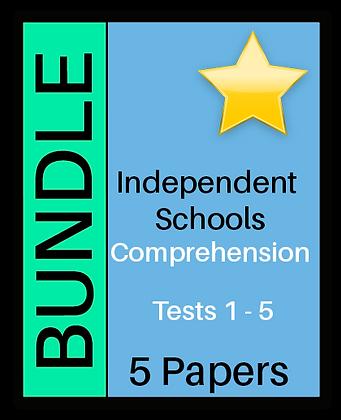 Independent Schools - Comprehension- Bundle