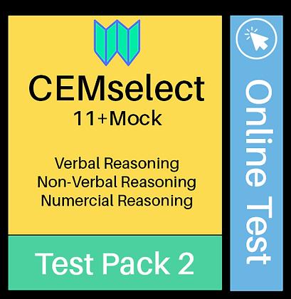 CEM Select Online Assessment 2