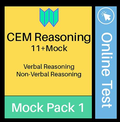 CEM Reasoning Online Assessment 1