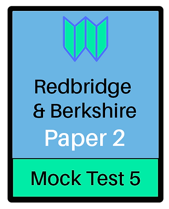 Redbridge & Berkshire Paper 2 -Mock 5
