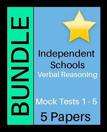 Independent Schools - Verbal Reasoning Bundle