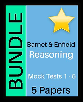 Barnet & Enfield: Reasoning- 5 Pack Bundle
