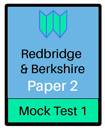 Redbridge & Berkshire Paper 2 -Mock 1