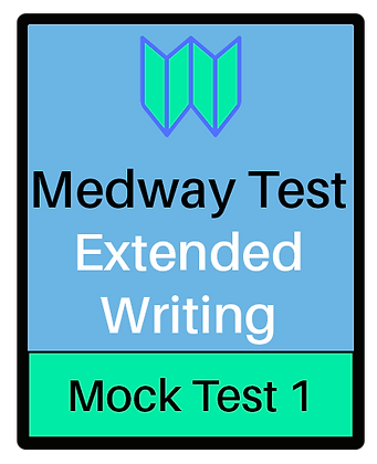 Medway Test Extended Writing - Test 1