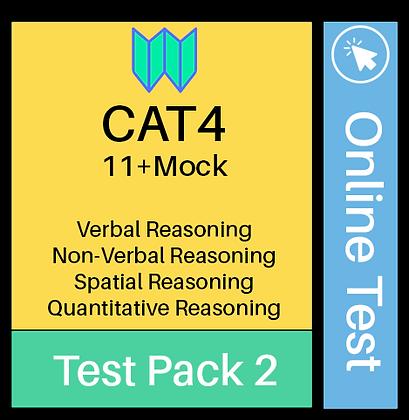 CAT4 Online Mock Assessment 2