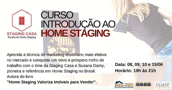 Curso Introdutório Home Staging - Stagin