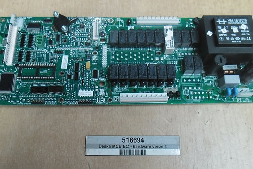 Placa eletrônica de comando para alavadoraextratora Primus  modelo RS 35