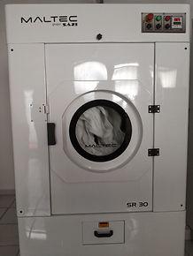 secador usado 30kg teknomak maquinas para lavanderia industrial usada