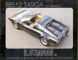 Straman BB512 Targa