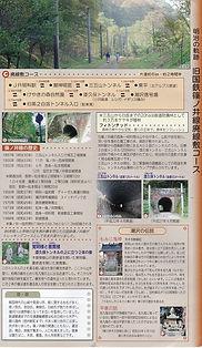 旧国鉄篠ノ井線廃線敷き地図