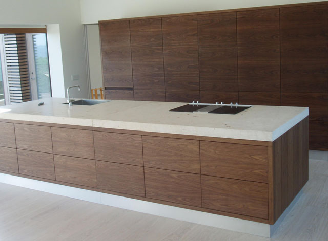 Kitchen - Real Wood Veneer