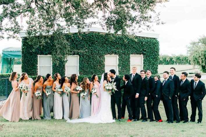 Boho Chic Wedding Party