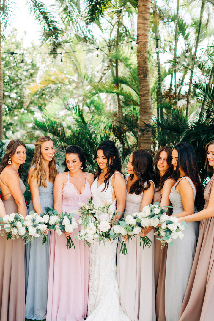 Boho Chic Wedding Bouquets