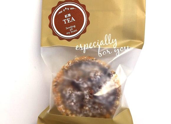 紅茶のピーキャンタルト【袋1】Tea flavored Pecan Tart