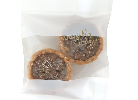 ピーキャンタルト袋【2個入】Pecan Tarts 2pcs in bag