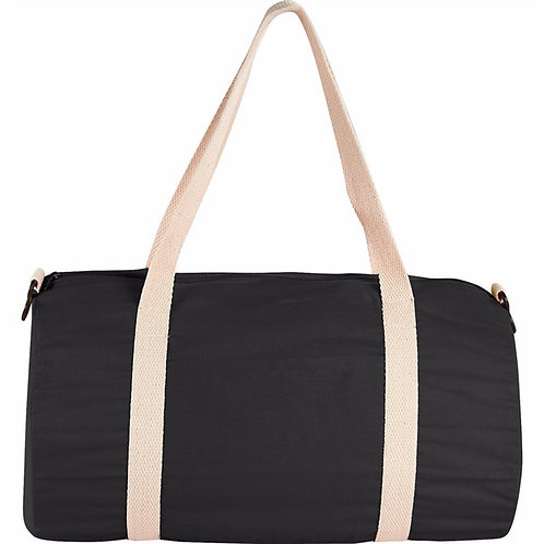 Cotton Barrel Duffle Bag