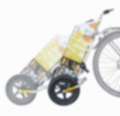 trolleyboy® Fahrradanhänger trolley bike trailer