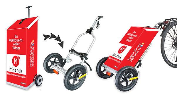 trolleyboy Fahrrad Anhänger