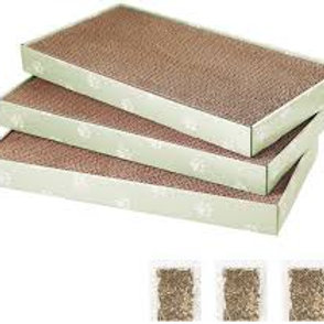 Cat Scratch trays - Recycled and sustainable (pack of 3)