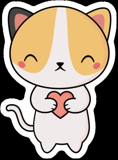 889-8892427_kawaii-cute-cat-with-a-heart