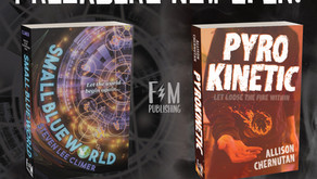 Preorders up for PYROKINETIC and SMALL BLUE WORLD