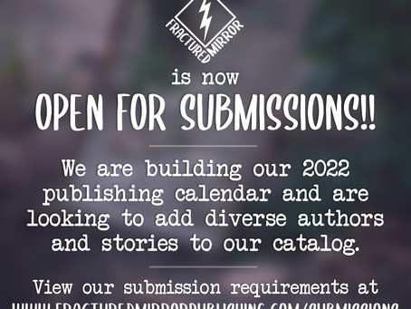Submissions are Open!