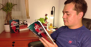 Cormac Lin's Short Reading of his Debut Novel, LIFE AMONG SEAHORSES