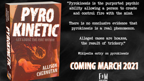 Cover Reveal for PYROKINETIC!