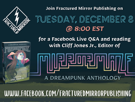 FB LIVE event with the editor of MIRRORMAZE!
