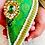 Thumbnail: Green Brocade Nariyal with Peardrop