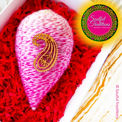 Pink Multi Weave Nariyal