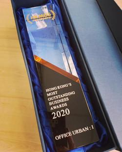 Hong Kong Most Outstanding Service Award 2020