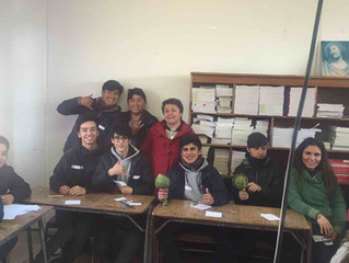 Verdaderos escritores en Liceo de Zapallar