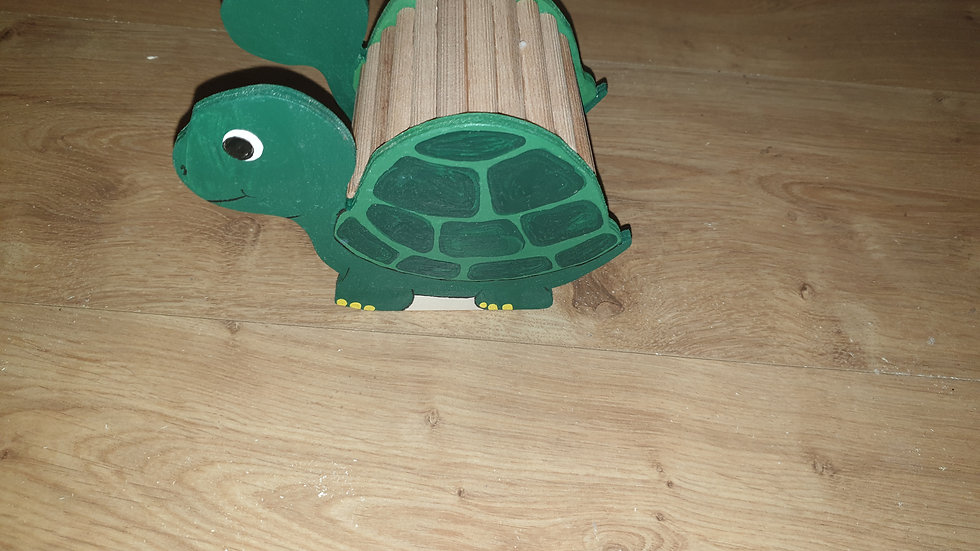 Schildkröte Versteck