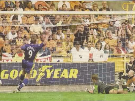 28.8.1999. Wolves 1 Walsall 2.