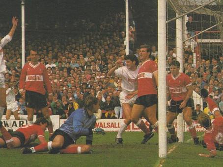 30.5.1988. Walsall 4 Bristol City 0.
