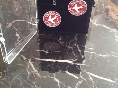 Key Ring And Pin Badge Set.