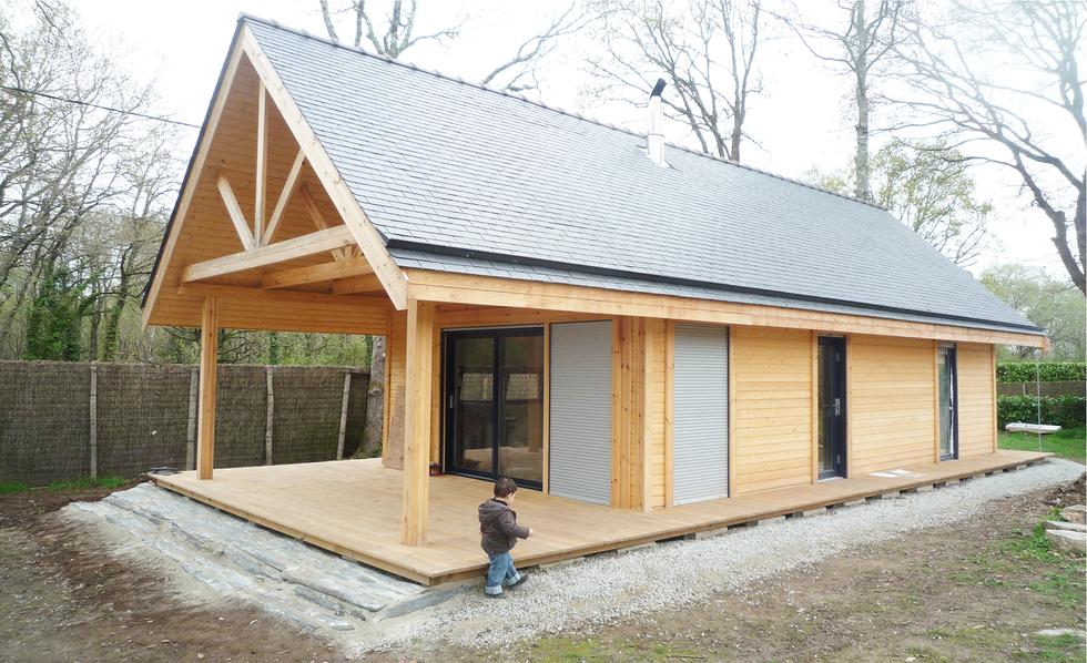 Maison bois - Sarzeau