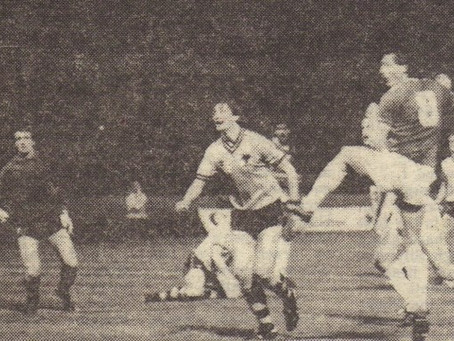 3.9.1985. Wolves 0 Walsall 1.