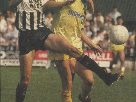 15.5.1988. Notts County 1 Walsall 3.