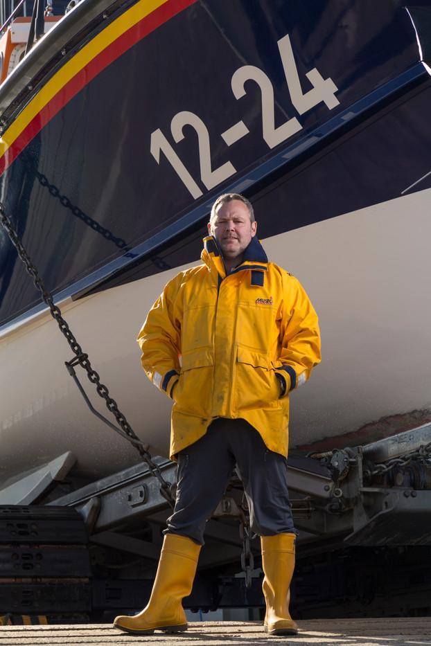 Life Boat Crewe Member