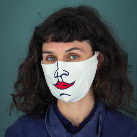 Masque Dora sans plis