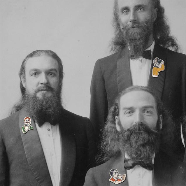 Les hommes à barbe