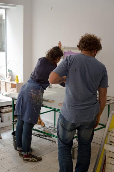 Photo atelier sérigraphie