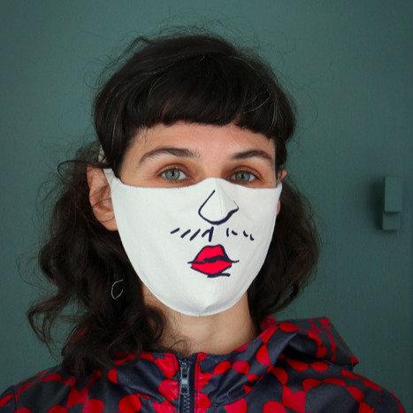Masque oskar sans plis