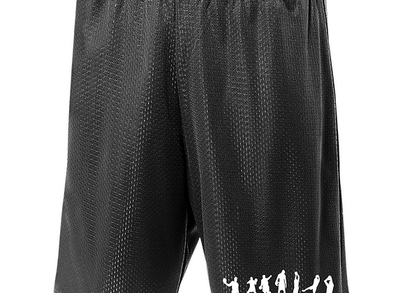 """Mesh Shorts Lined Tricot 9"""""""