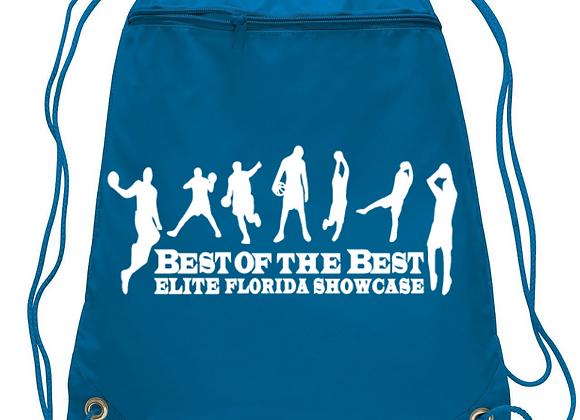 Drawstring Backpack w Side Pocket